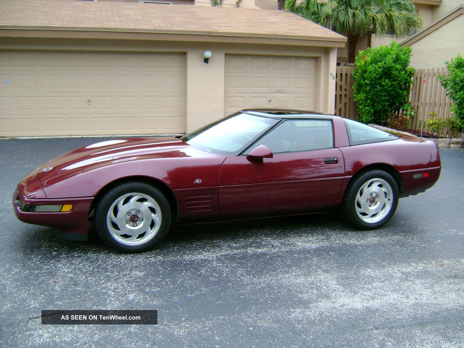 1993 Corv.  40th Anniv 36000mi.  - 2 Tops - Fx3 / G92 - Loaded - Orig.  & Garaged. Corvette photo