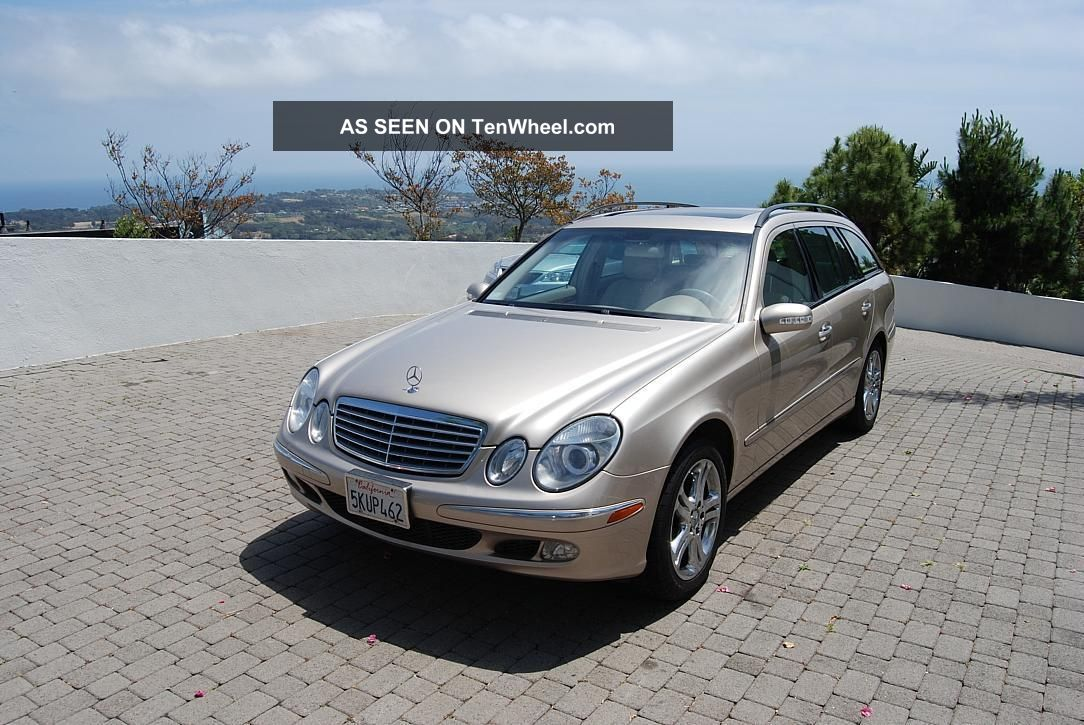 2004 California Mercedes Benz E500 4matic Wagon All