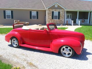 1939 Ford Cabriolet Convertible - All Steel Street Rod - Stunning photo