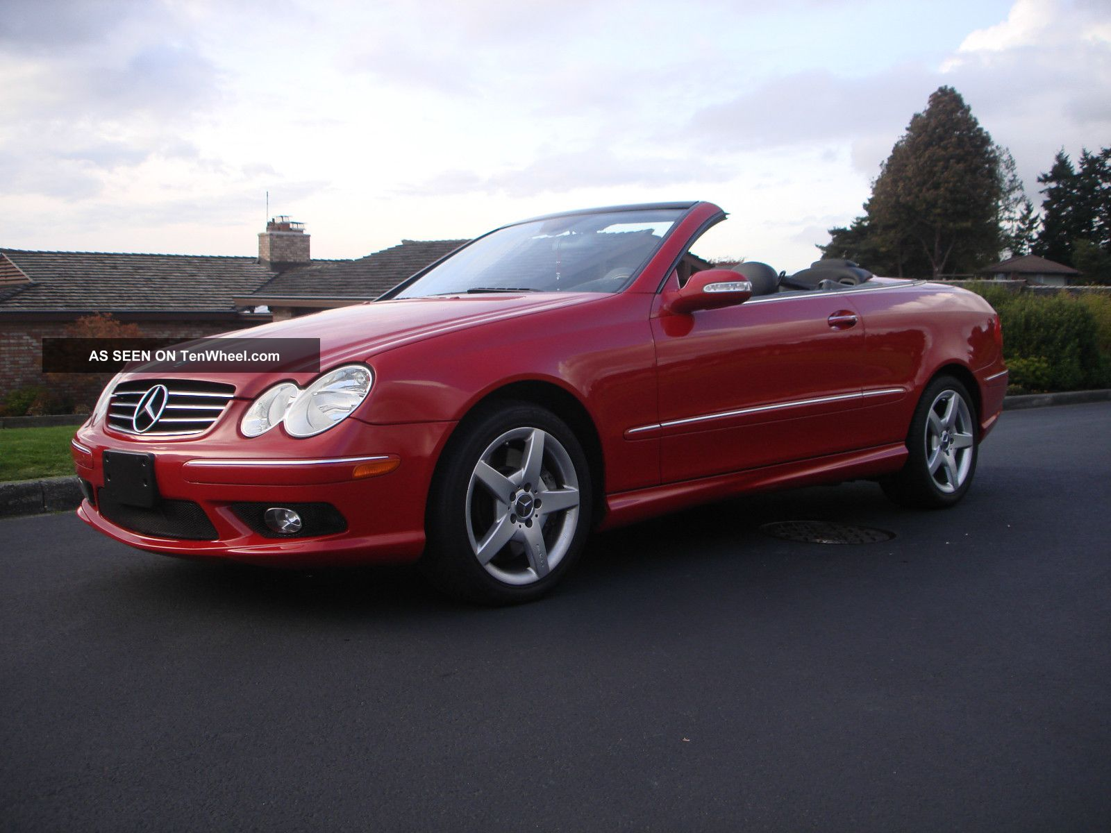 2005 Mercedes Benz Clk500 Base Convertible 2 Door 5 0l
