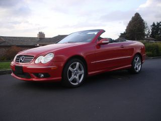 2005 Mercedes - Benz Clk500 Base Convertible 2 - Door 5.  0l photo