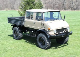 1978 Mercedes Benz Unimog 416 Doka Crewcab.  Best 4x4 Ever Made Must Be Seen No R photo