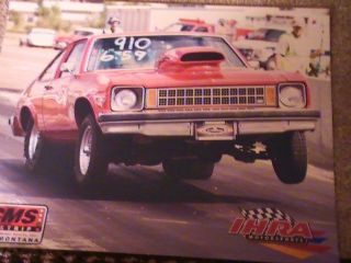1975 Chevy Nova Drag Car This Is A Roller With No Motor Are Trany photo