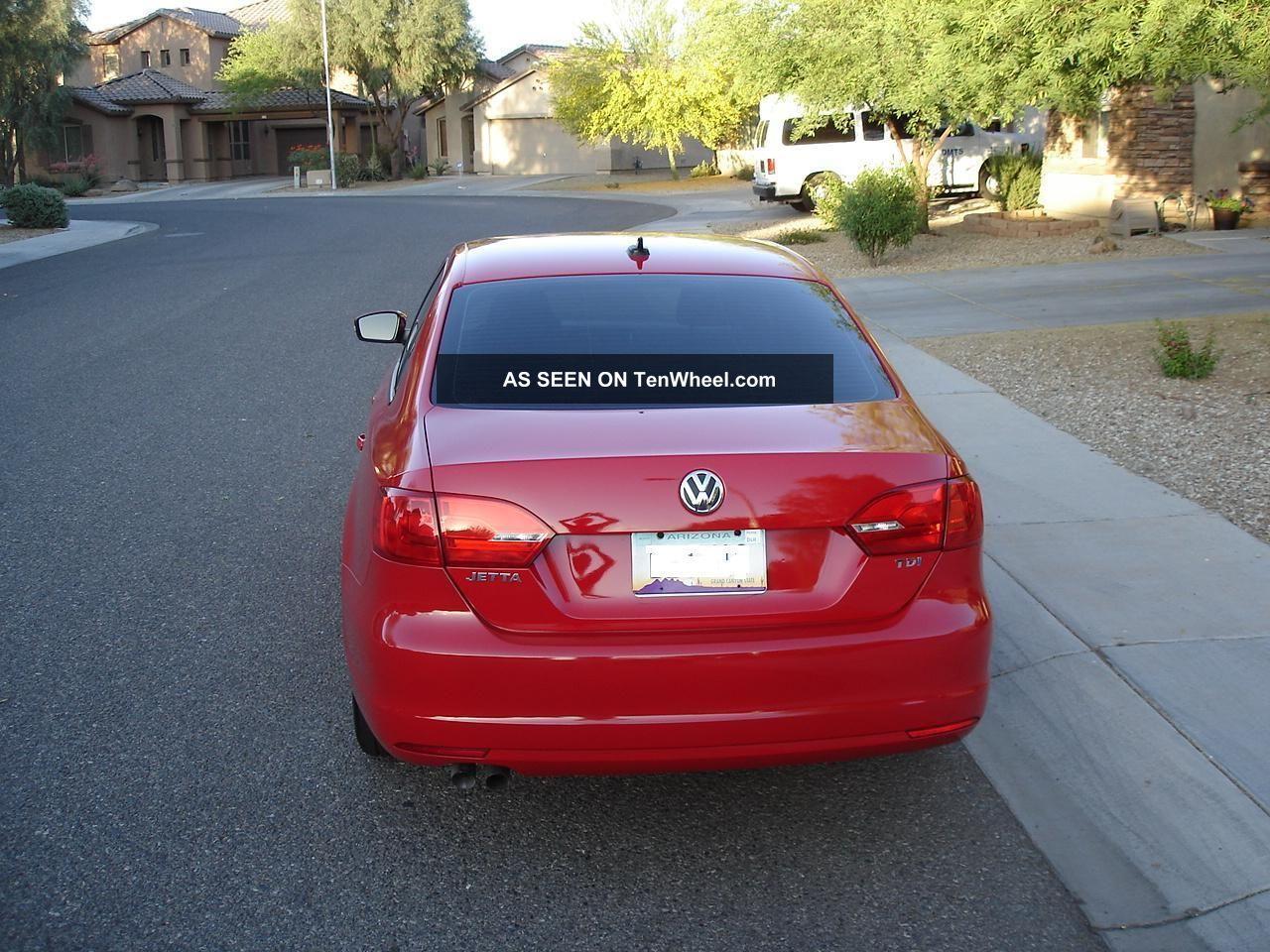 2011 Volkswagen Jetta Tdi  Turbo Diesel  6 Speed Manual Trans