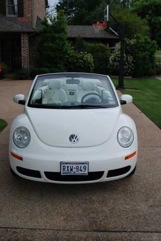 2007 Vw Beetle Triple White Edition photo