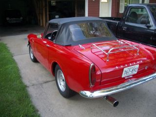 1966 Sunbeam Alpine Series 5 V 1725 Cc Ragtop Red Convertible Rootes Group photo
