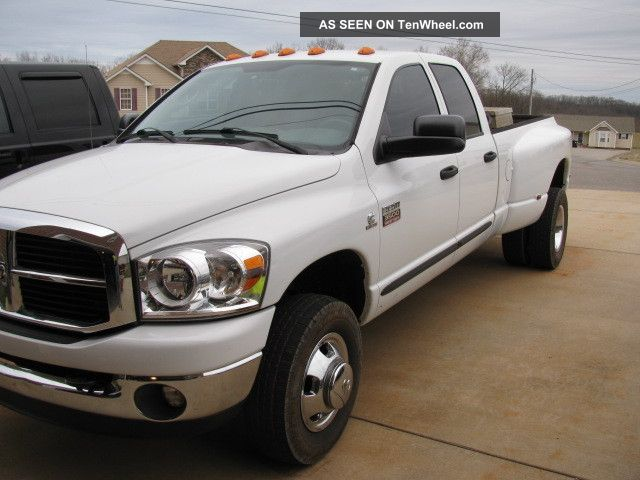 2007 Dodge Ram 3500 Slt Crew Cab Pickup 4 - Door 6.  7l Ram 3500 photo