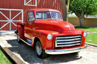 1951 Gmc Pickup Clear Title In Hand Chevy 51 Pick Up Truck photo