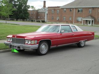 1974 Cadillac Coupe Deville Base Coupe 2 - Door 8.  2l photo