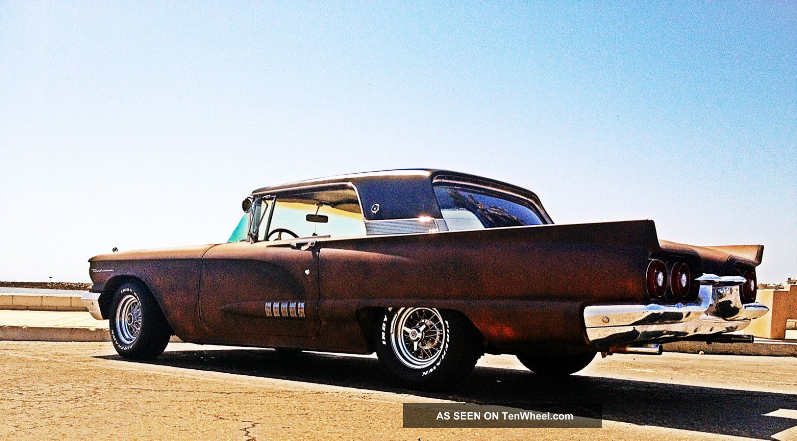 Ford Thunderbird Rat Rod Awesome Show Muscle Car Not Chevy Chevrolet Lgw