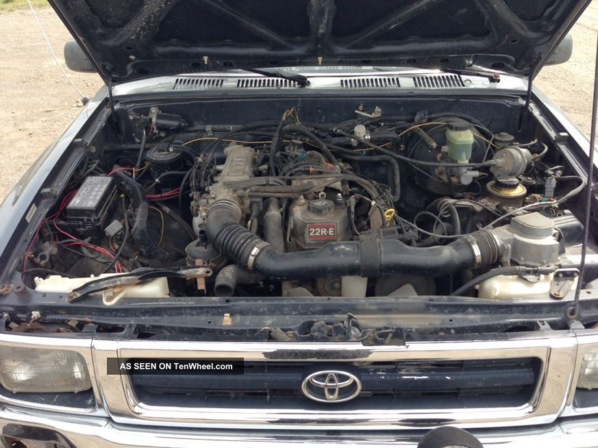 1993 Toyota Pickup Xtra Cab 5 Speed 22re 4x4