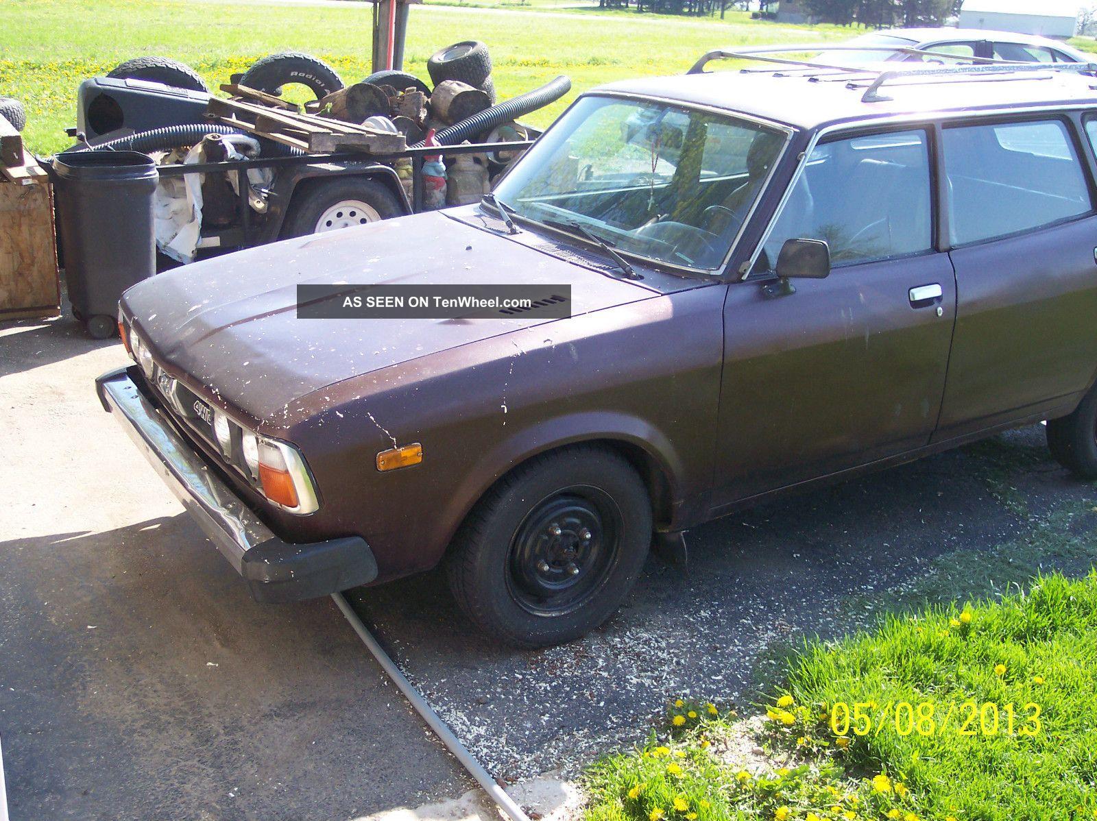 1979 Subaru Dl Base Wagon 4 - Door 1.  6l Other photo