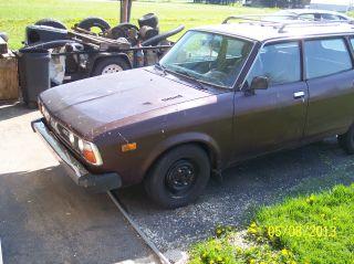 1979 Subaru Dl Base Wagon 4 - Door 1.  6l photo