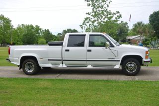 2000 Chevy 3500 Gas Car Hauler Tow Work Show Truck Custom photo