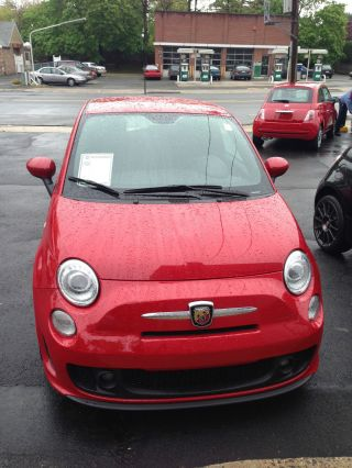 2012 Fiat 500 Abarth Hatchback 2 - Door 1.  4l photo