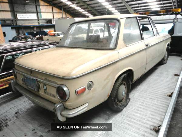 1970 Bmw 2002,  California Barn Find Very - - - - - - Must Sell 2002 photo