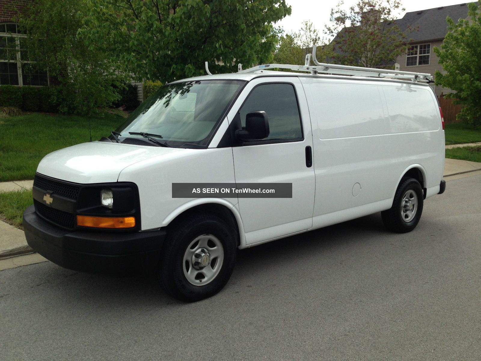 2007 chevrolet express 1500 base standard cargo van 4. Black Bedroom Furniture Sets. Home Design Ideas