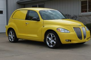 2001 Pt Cruiser Sedan Delivery Custom Built All Steel Head Turner photo