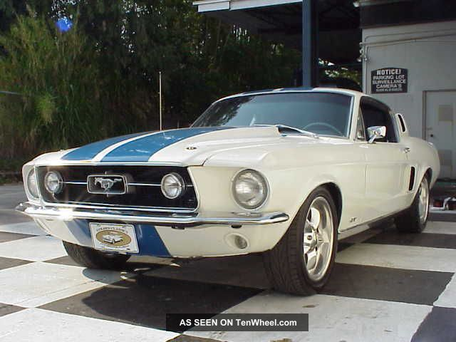 1967 Ford Fastback Mustang Gt Resto Mod