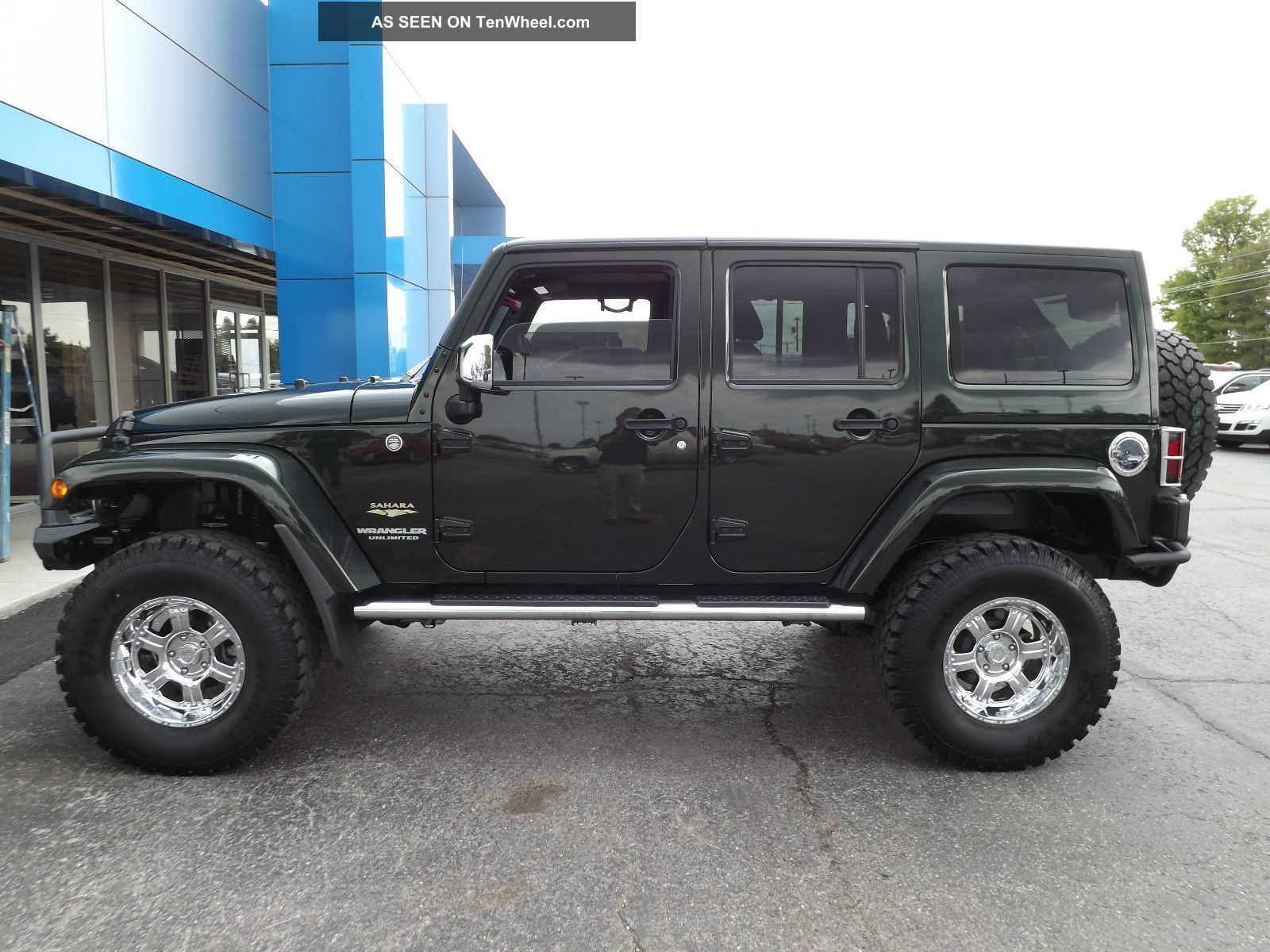 Jeep Wrangler 4 Door LiftedJeep Wrangler 4 Door Lifted