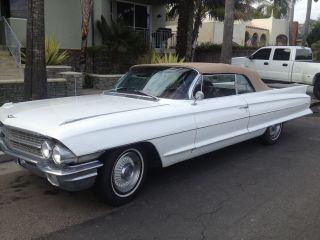 1962 Series 62 Cadillac Convertible photo