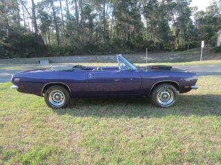 1969 Plymouth Barracuda Convertible photo