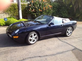 1995 Porsche 968 Convertible (last Year Of Production) photo
