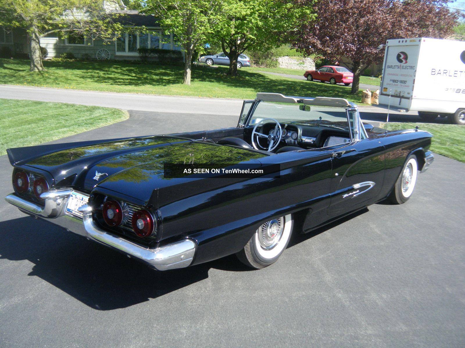 1959 Ford Thunderbird Base Convertible 2 Door 5 4l