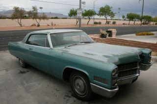 1966 Cadillac Deville Base Hardtop 2 - Door 7.  0l photo