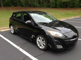 2010 Mazda 3 S Hatchback 4 - Door 2.  5l Black W / 100k Mile Mfg Powertrain photo