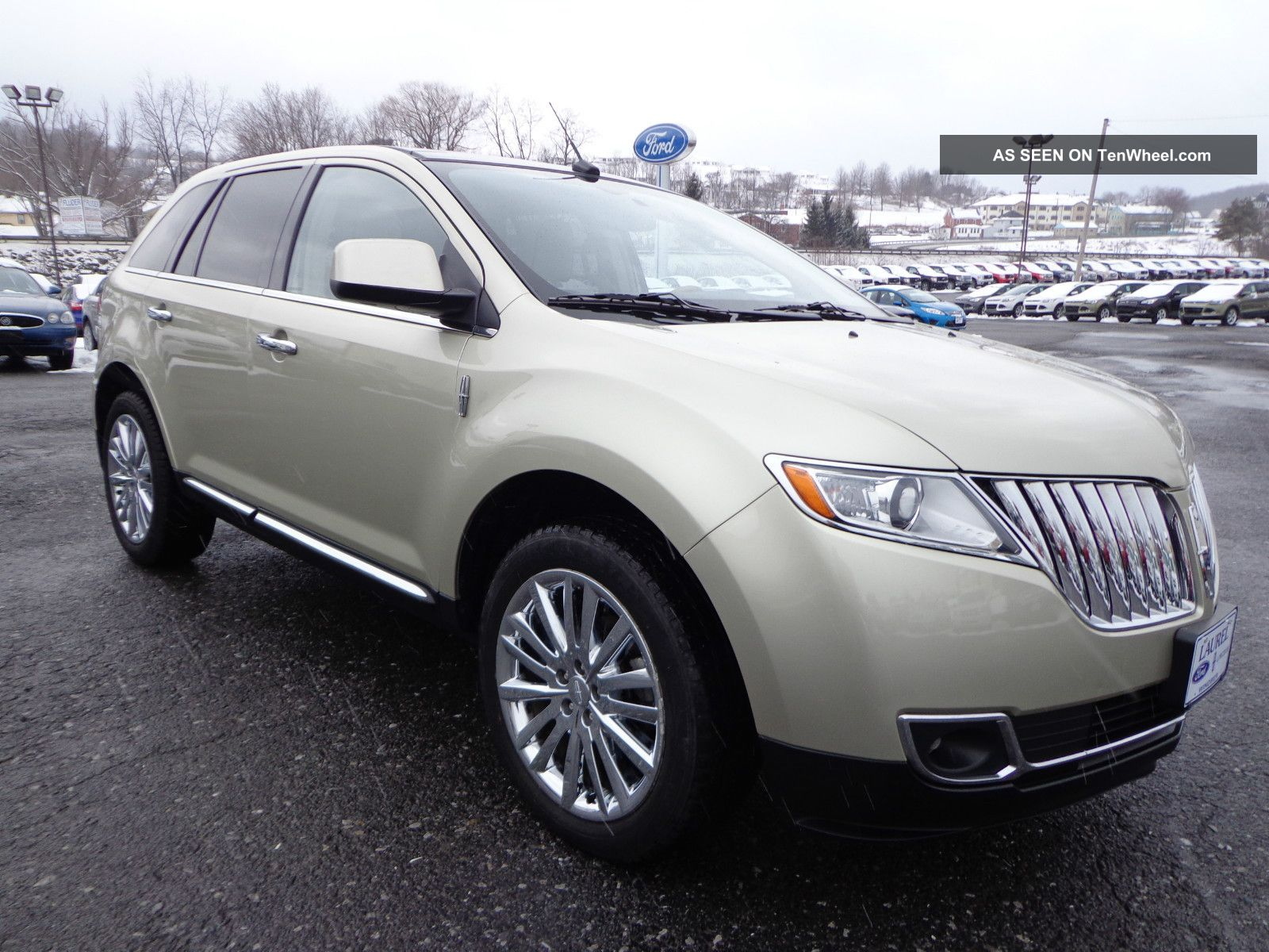 2011 Lincoln Mkx Awd Rear Camera