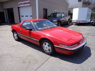 1989 Buick Reatta Coupe 2 - Door 3.  8l Rare Red Touch Screen Loaded Lowmile photo