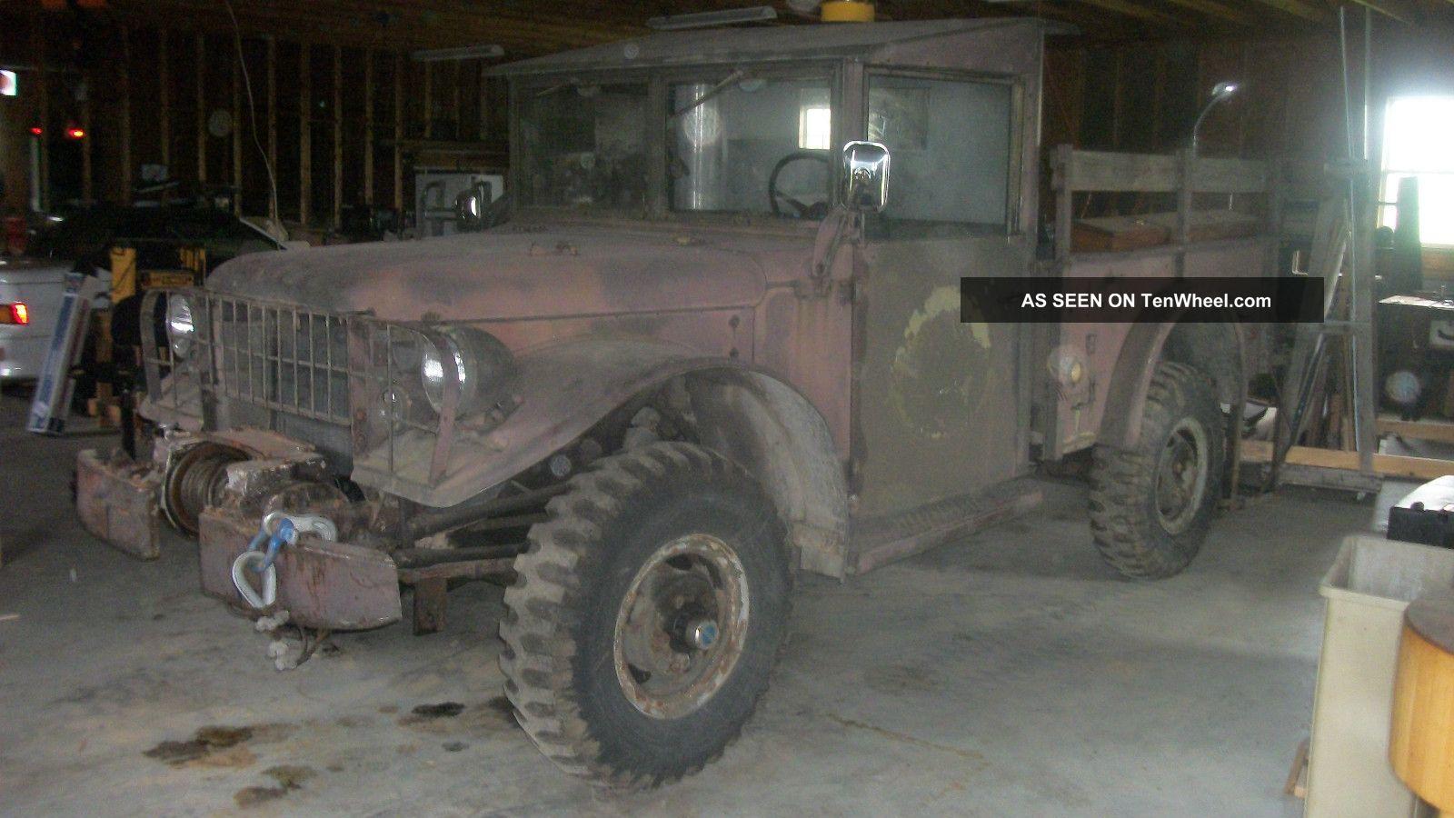 1954 Dodge M37 Power Wagon Troop Transport Vehicle Power Wagon photo