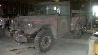 1954 Dodge M37 Power Wagon Troop Transport Vehicle photo