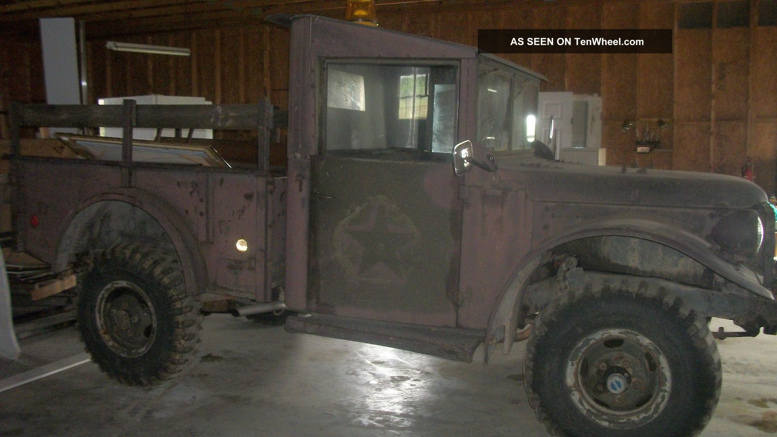 1954 Dodge M37 Power Wagon Troop Transport Vehicle Photo 1