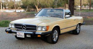 1979 Mercedes - Benz 450sl Convertible - Rust photo