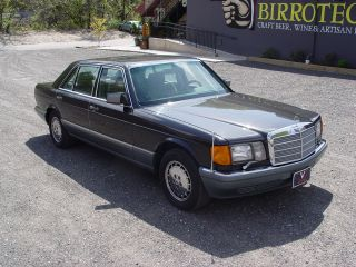 1987 Mercedes - Benz 560sel photo