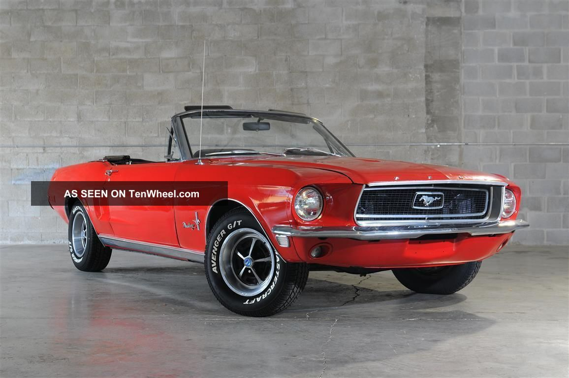 1968 Ford Mustang Convertible 289 V8 Mustang photo