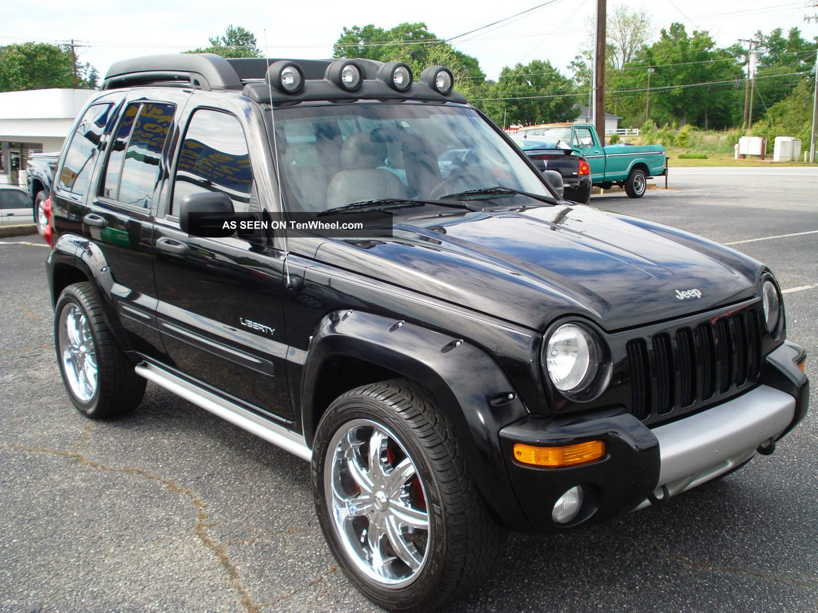 2004 Jeep Liberty Renegade Sport Utility 4 Door 3 7l