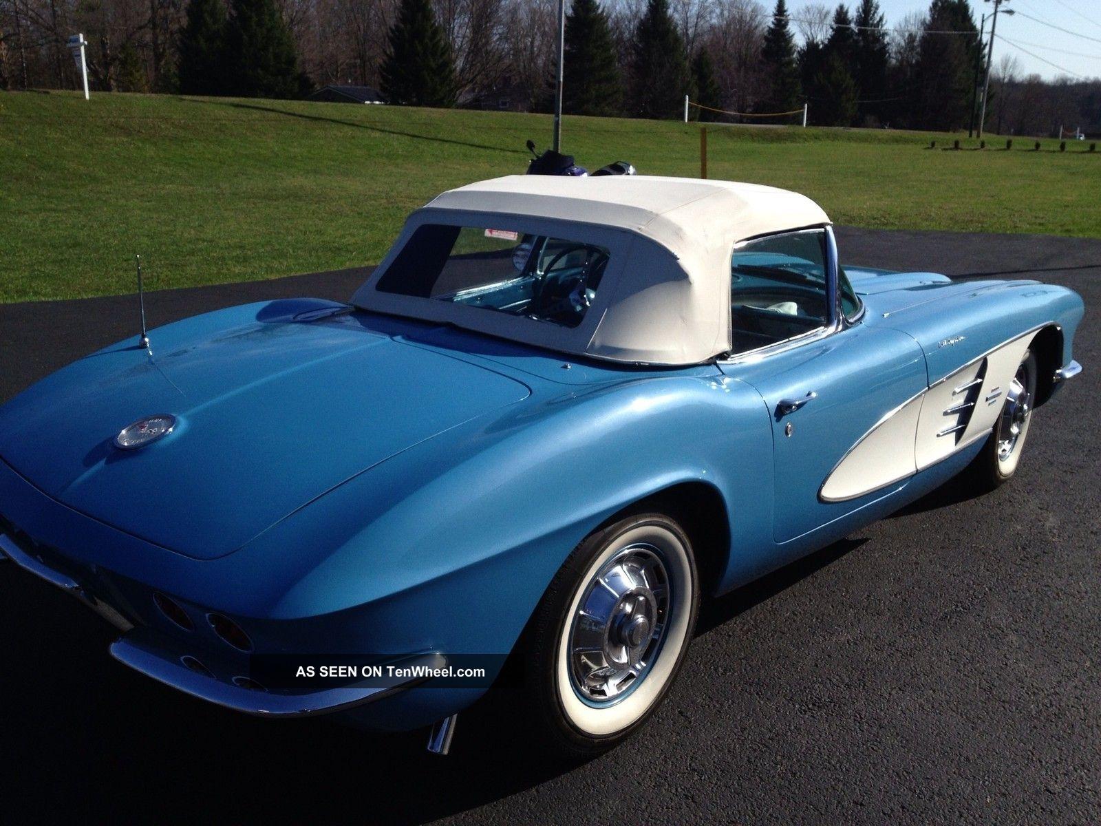 1961 Chevrolet Corvette Fuel Injected