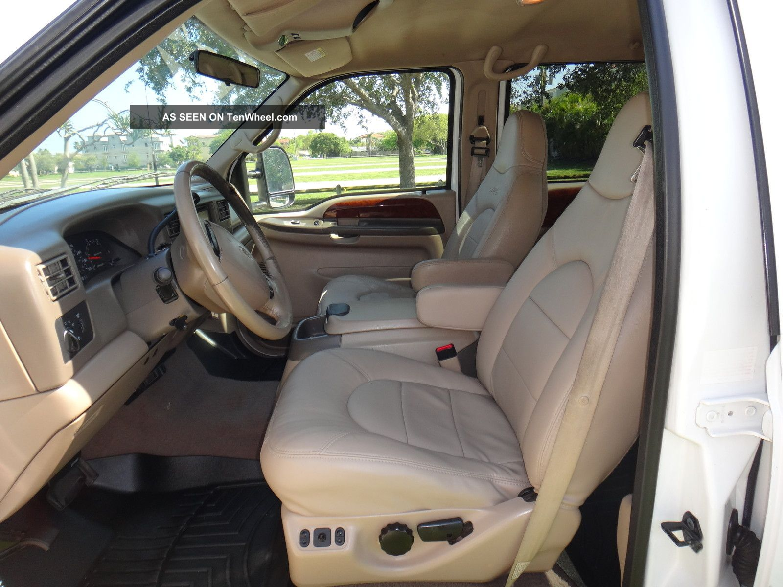 Ford F Lariat L Diesel X Crew Cab Very Runs Make Offer Lgw on 2000 Dodge Trucks Seats