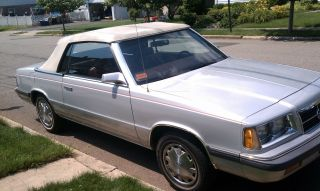 1986 Dodge 600 Convertible photo