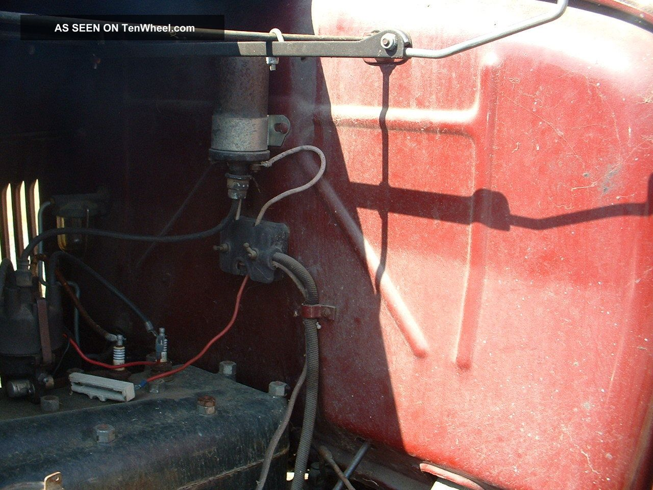 1930 Ford Roadster Pickup Model Electrical Wiring