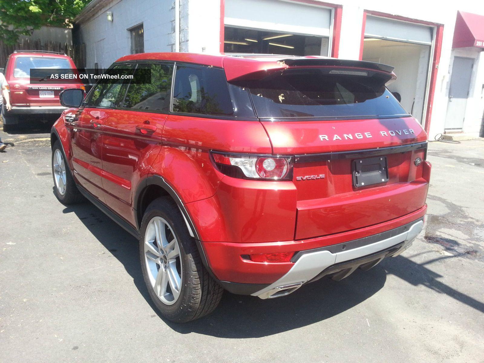 2012 Land Rover Range Rover Evoque Dynamic Sport Utility 4 ...