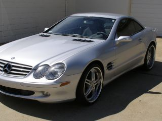2006 Mercedes - Benz Sl500 Base Convertible 2 - Door 5.  0l photo