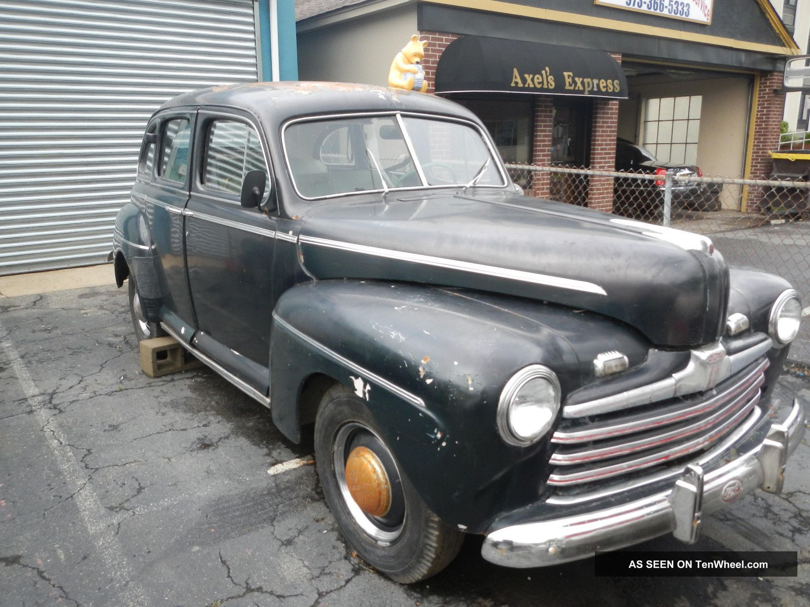 1946 Ford Sedan W Complete Drivetrain Flathead V 8 Other photo
