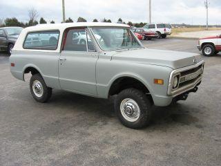 1969 Chevy Blazer 4x4 Restoration Project photo