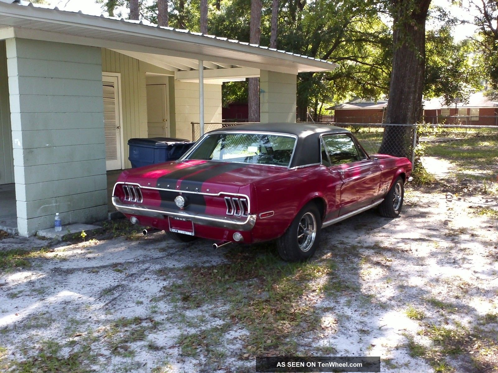 1968 Mustang Coupe 1967 Driver Mustang photo