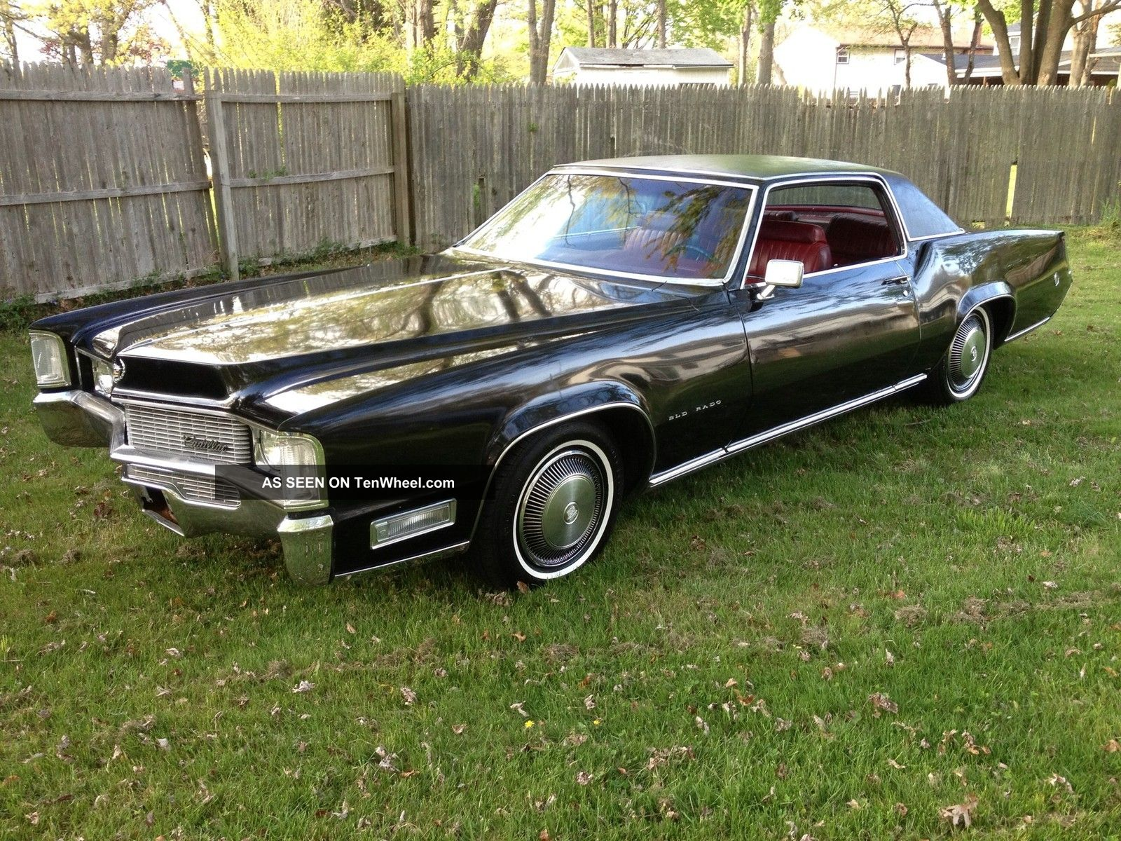 1969 Cadillac Eldorado 67k Survivor Right Colors Look