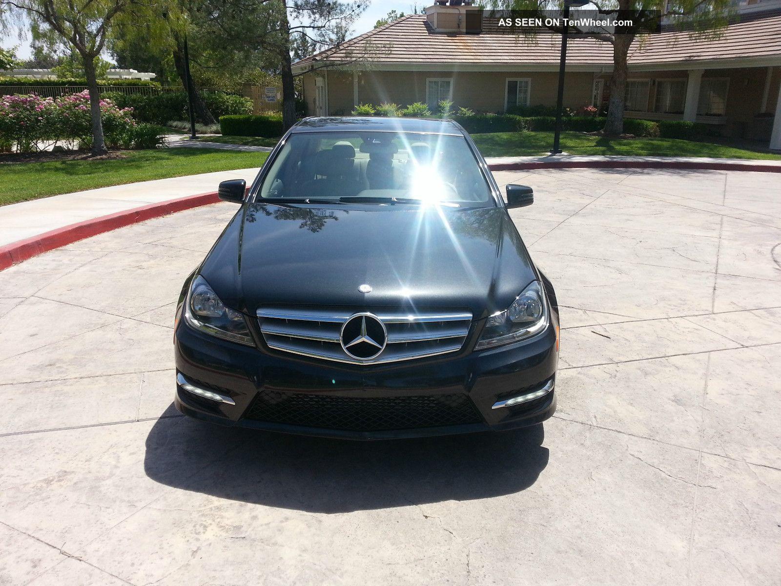 2012 mercedes benz c250 magnetite black for Mercedes benz 24 hour roadside assistance